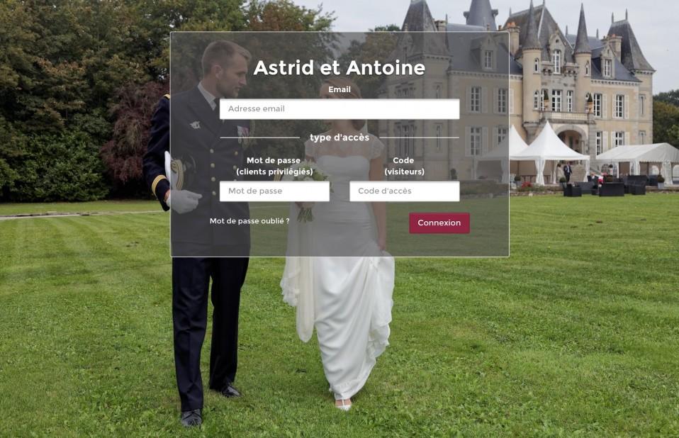 #Mariages – Mise en place d'une plateforme @LumysPhoto