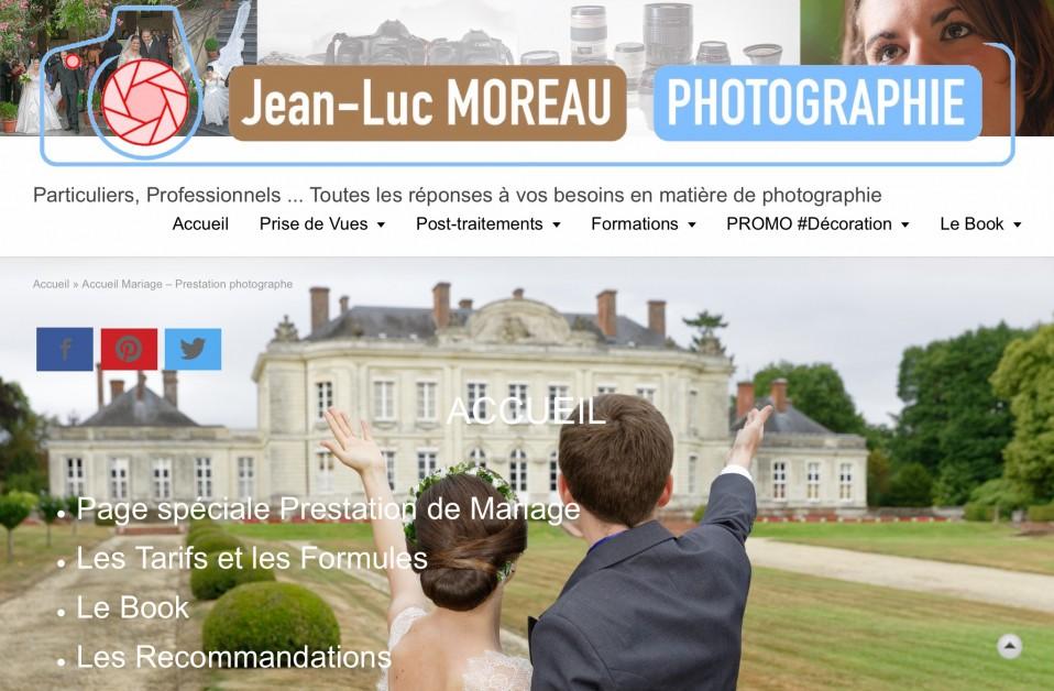 Photographe de Mariage : Nouvelle Page d'accueil #photo